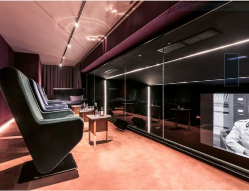 The first cinema-hotel in Paris equipped by Cinemeccanica TMS STREAMER
